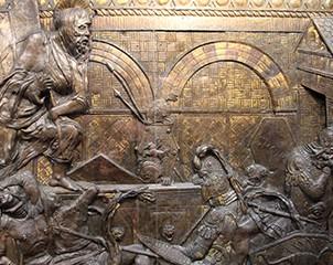 Donatello_e_aiuti,_pulpito_della_resurrezione,_dal_1460,_resurrezione_01_sito