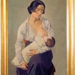 Gino Severini, Maternità, 1916 - Museo dell'Accademia Etrusca e della Città di Cortona