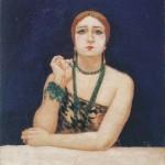 Anselmo Bucci, Rosa Rodrigo (La bella), 1923-Collezione privata, Courtesy Matteo Mapelli, Galleria Antologia Monza