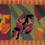 Fortunato Depero, Arazzo Cavalieri, 1927-, Maria Paola Maino, Roma