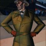 """Pippo Rizzo, Il nomade, 1929-Galleria d'Arte Moderna di Palermo""""Empedocle Restivo"""", © Giacomo D'Aguanno/Civita Sicilia"""