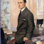 Baccio Maria Bacci, Ritratto di Matteo Marangoni, 1919 - Wolfsoniana-Palazzo Ducale Fondazione per la Cultura