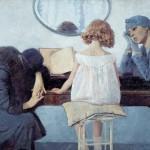 Ettore Beraldini, La canzone del Piave o Inno al Piave, 1929-Collezione della Fondazione Cariverona. Archivio fotografico della Fondazione Cariverona