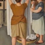 Antonio Donghi, Le lavandaie, 1922-Courtesy Galleria Russo, Roma