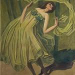 Cornelio Geranzani, Ballerina, 1920-Collezione privata. Foto Armando Pastorino